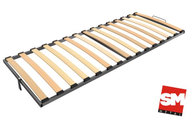 Единична рамка с подсилена метална конструкция