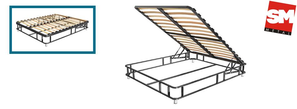Метална конструкция за легло